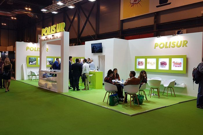 Polisur stand para Fruit Attraction