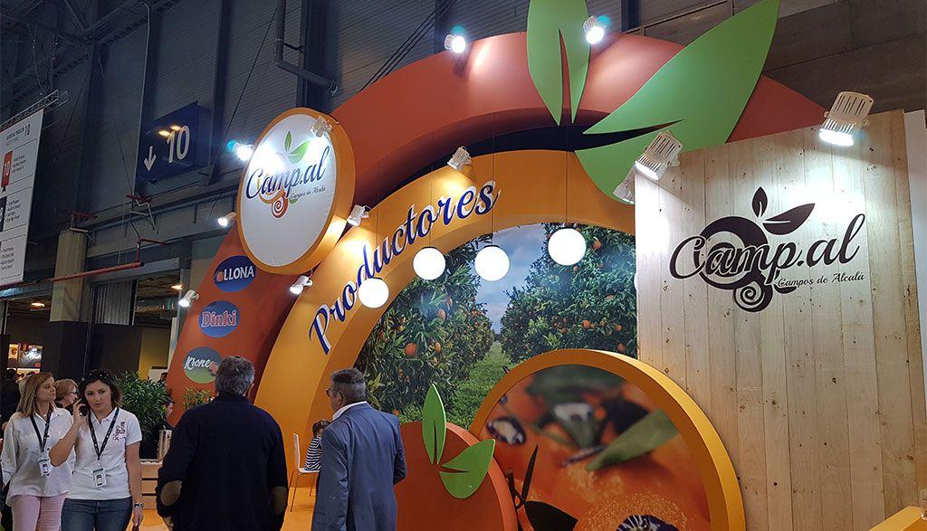 decoracion de stands para fruit attraction