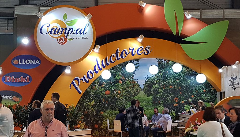 decoracion de stands para fruit attraction