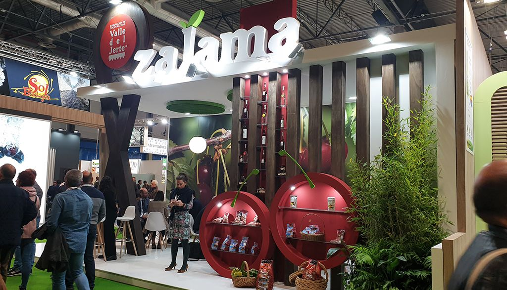Stand de madera para Fruit Attraction
