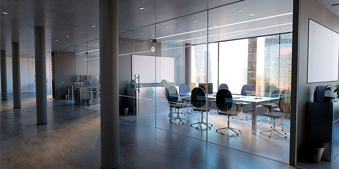 Interiorismo separadores oficina