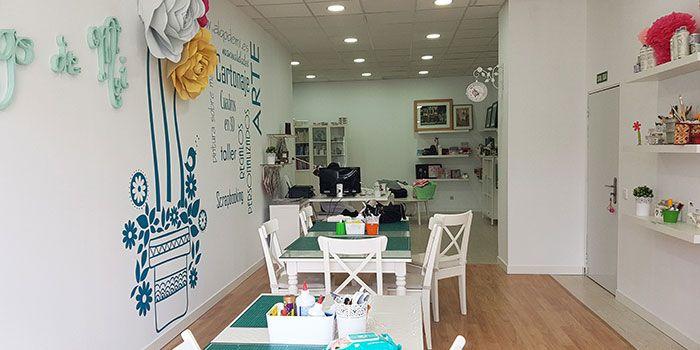 Interior Showroom Algo de Mí