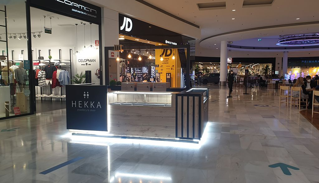 stand centro comercial